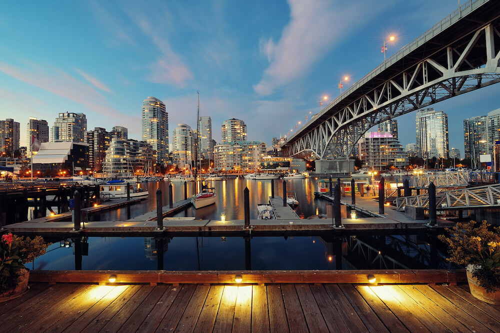 Vancouver stock image